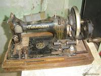 Maquina de coser sin tapa nauman