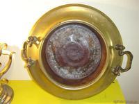 Bracero metal y cobre