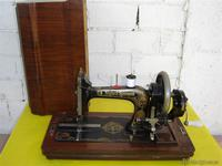 Maquina de coser frister rossmann