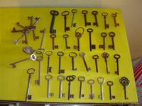 40 llaves antiguas