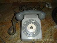 Telefono heraldo color gris