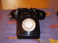 Telefono heraldo color negro
