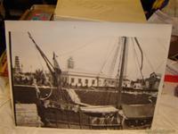 Fotografia antigua de un Galeon,Barco