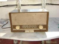 Radio pequeña Marron,Valvula
