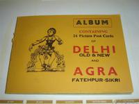 Albun 24 postales de Delhi y Agra