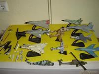 Maquetas de aviones y helicocteros