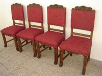 4 sillas estilo español