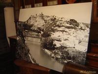 Cuadro de fotografia antigua en papel