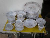 Conjunto de vajilla de porcelana oriental